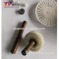 a injeção plástica moldou o molde axial do fã da CC das peças 12v para o aparelho electrodoméstico