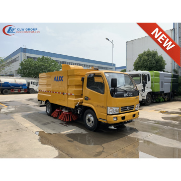 Brand New Dongfeng D6 parking lot cleaning truck