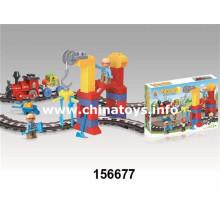 Bloque hueco de los juguetes plásticos populares superiores de la venta 2016 (156677)