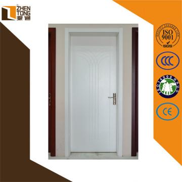 Hohe Bewertung Scharnier unsichtbar / sichtbar moderne MDF-Tür, Holztür Muster, billige Innenflügeltüren