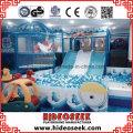 Gefrorene Schnee-Theme Naughty Castle Kids Indoor Spielplatz Ausrüstung