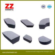 100% Virgin Tungsten Carbide Brazed Inserts