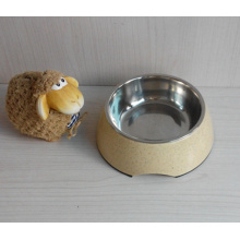 Eco Bamboo Fiber Pet Bowl (BC-PE6014)