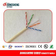 Cable de alta calidad del remiendo de UTP Cat 6