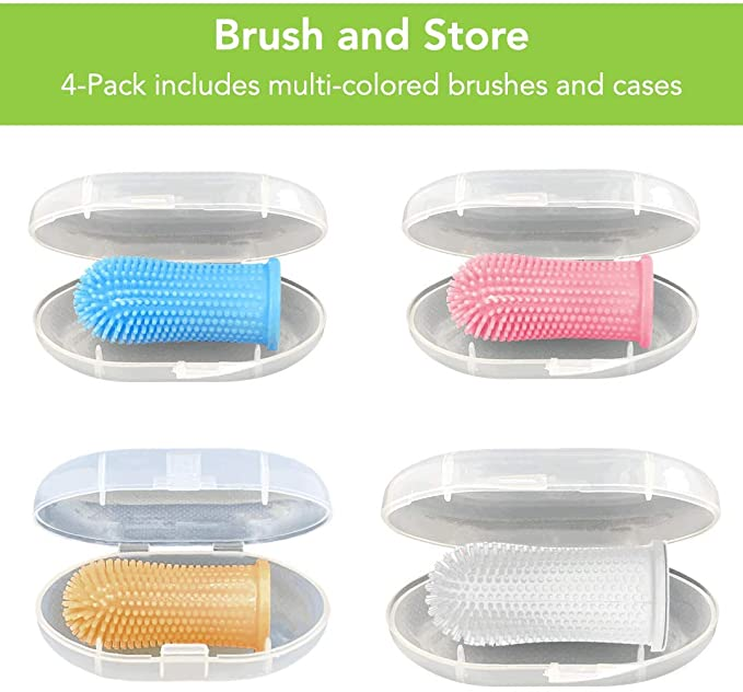 Full Surround Bristles Silicone Toothbrush