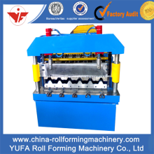 Kualitas tinggi Lantai Deck Roll Forming Machine, Decking Panel Roll Forming Machine
