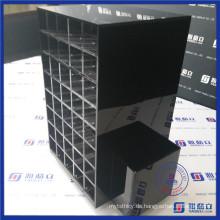 China Großhandel 80 Fächer Acryl Lippenstift Holder Spinning