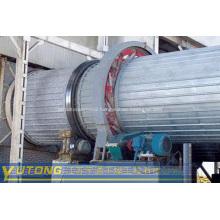 Fluorite powder for rotary drum dryer