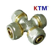 КТМ латунный штуцер трубы равного сечения трубы PEX-Аль-PEX труб