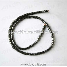 "4MM Loose magnético Hematite Drum Beads 16 """
