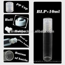 SRS EMBALAGEM nenhum rolo de fuga no frasco, 3ml 5ml 10ml rolo de vidro aromatherapy de 15ml na garrafa