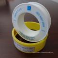 Прямая связь с розничной торговлей фабрики 12mm высокомарочная OEM желтая тесьма уплотнения тефлона PTFE газа