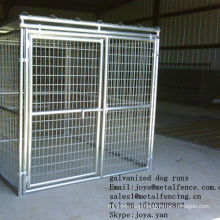 """Outdoor application hot dip galvanized 2""""x4"""" opening dog kennels"""