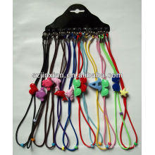 Cordón de cadena moldeado de las lentes de los niños coloridos, cordón de las lentes de los cordones