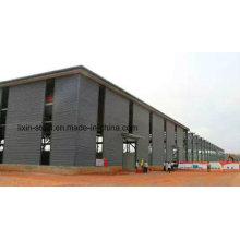 Stahlprodukte, die Stahlrahmen für professionelle Fertigung einschließen