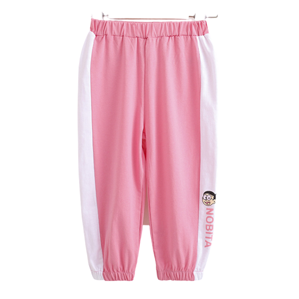 Hot Selling Pretty Splicing Cotton Sports Pants