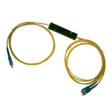 1X2 Optical Fiber Coupler (OCT, Line Monitor, Optical Network System)