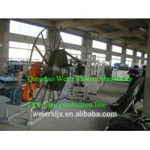 """Linhas de extrusão de máquina TPU para 2""""- 12"""" linha de produção da mangueira plana de TPU"""