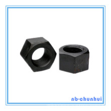 Шестигранная гайка A563 M76 Черный