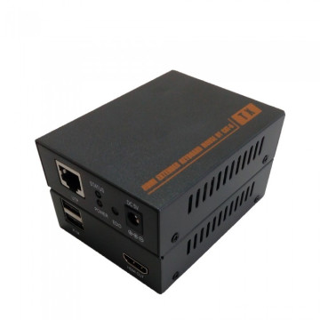 60m HDMI Kvm Extender (par simple Cat5e / 6, EDID)