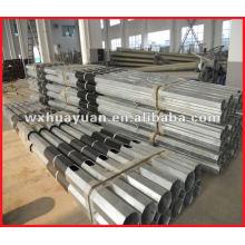 Poteau électrique en acier galvanisé