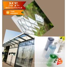 PVC-Folie für Kunststoff Vorhang weichen PVC-Film PVC-Fenster Vorhang