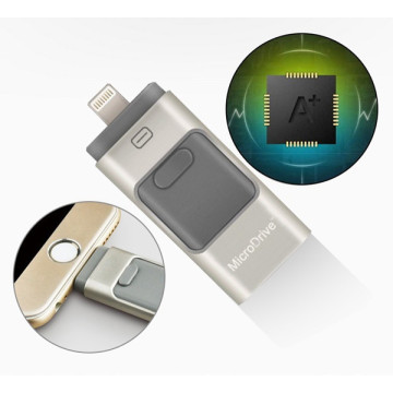 OTG Dual USB Flash Drive para iphone