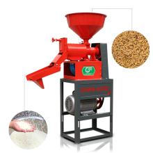 Máquina de processamento da trituração do arroz do uso doméstico de DAWN AGRO / preço completo 0811 da maquinaria do moinho de arroz