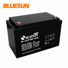 Bluesun batería de gel de 12V 150Ah 200Ah de alta calidad para almacenamiento eléctrico para 10kw de la red del sistema solar