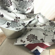 100% Polyester Jacquard Colorful Blackout Curtain
