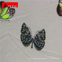 High quality woven plain white rayon poplin fabric for garments