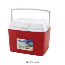 Caja de refrigerador de plástico de 19L, caja más fresca, caja de hielo