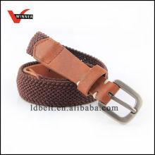 Man fashion custom woven belt braided