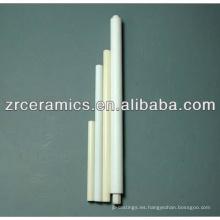 Tubo cerámico aislante de alúmina al2o3 99%