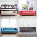 Sofa 3-Seater Sofa Upholstered Wooden