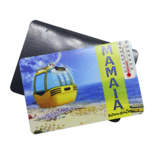 Custom Artwork Shape Promotional Giveaways Fridge Magnet with Thermometer