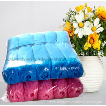 Disposable Hospital Non-Woven PP/PE Waterproof Anti-Skid Shoe Cover Kxt-Sc32