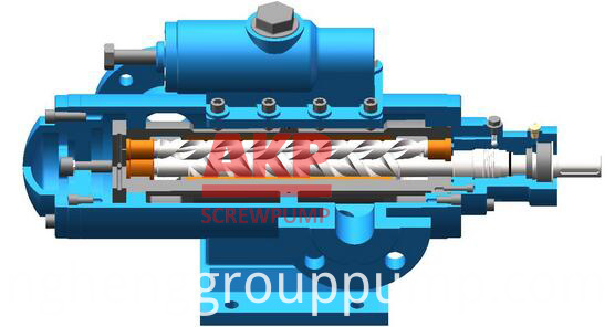 Double screw pump2