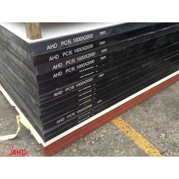 Black Color Extruded Polycarbonate Solid Sheet
