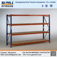 Fácil instalación ajustable Medium Duty acero Boltless estante