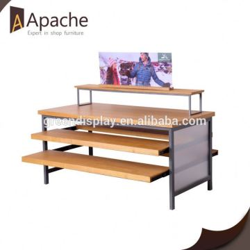 Stable performance powder coating chips display rack