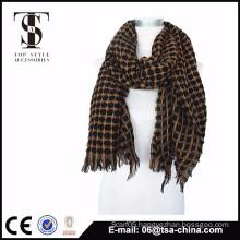 2015 New Arrival High Quality lattice Comfortable shahtoosh shawls