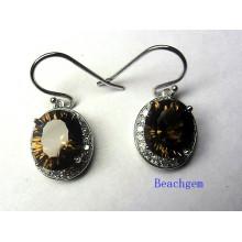 Fashion Concave Quartz Jewellery Earrings (E8765)