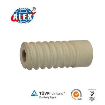 Rail Plastic Insert/Railway Plastic Dowel/Railroad Sleeve