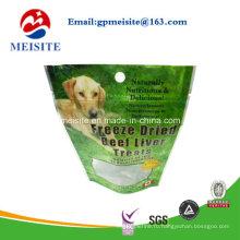Индивидуальная печатная пластиковая сумка для пищевых продуктов для домашних животных для собак