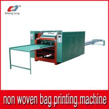 Auto Non Woven Bag Druckmaschine Stück von Stück Multi-Farben