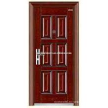 Роскошные конструкции стали безопасности входной двери двери KKD-307 от Китая производителя