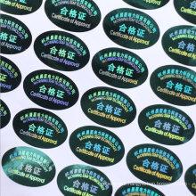 Wholesale Printing Cheap Custom Hologram Label Sticker