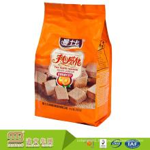 Laminated Multiple Layer Plastic Food Grade Custom Printing Aluminum Foil Bags For Cookies/Biscuits Packaging