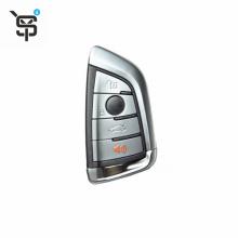 High quality OEM 4button car key cover for BMW car key remote  smart car key shell